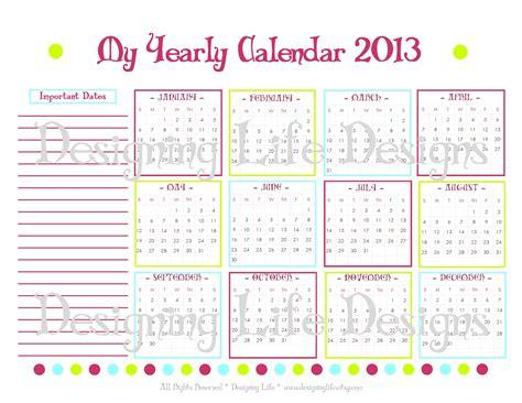 yearly calendar 2016 2017 yearly calendar template