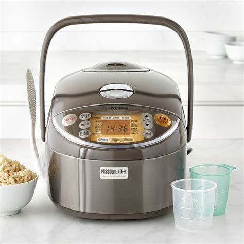 zojirushi induction heating pressure rice cooker zojirushi induction heating pressure rice cooker warmer williams sonoma