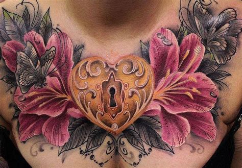 tattooed heart prices 177 best chest tattoos images on pinterest chest piece