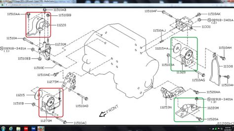 7 best images of 2005 nissan xterra engine diagram 2005 nissan altima wheel bearing diagram