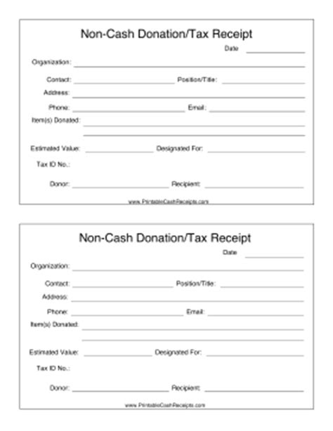 Equipment Donation Receipt Letter Template by If You Make A Non Donation Such As Clothing