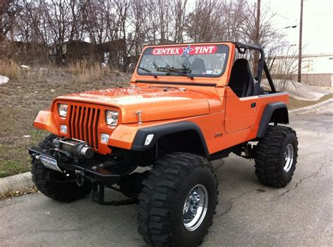 built jeep custom built jeep yj with comal customs vortex spray