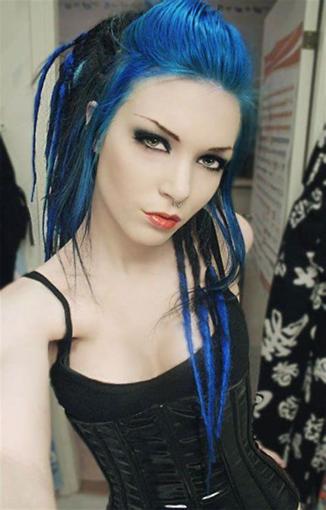 blonde goth hairstyles 95 best images about multi colored hair on pinterest her