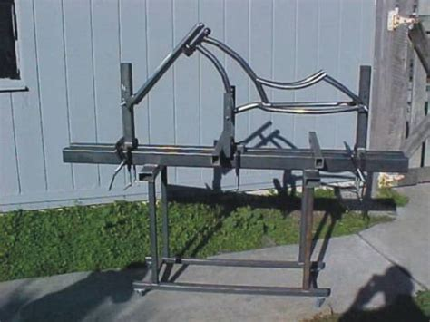 frame jig design bicycle frame jig plans build custom chopper bike or
