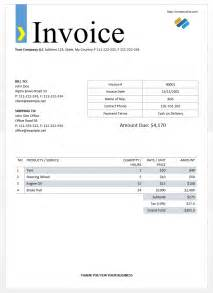 format of an invoice free invoice template for wedding