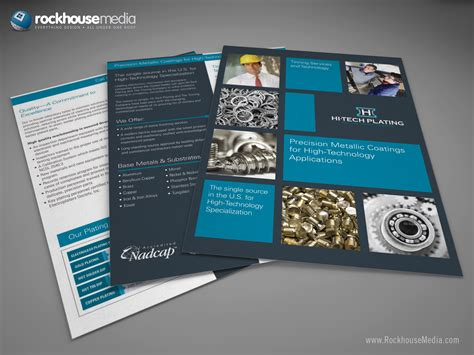 designs brochure sles hi tech plating tinning products and services brochure