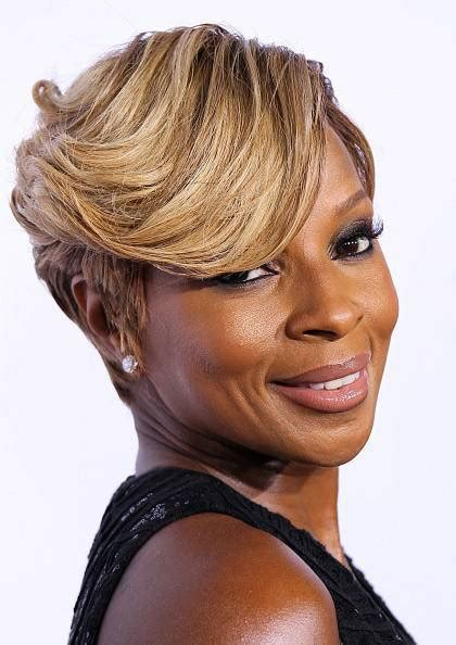 mary j blige hairstyles pictures 60 great short hairstyles for black women