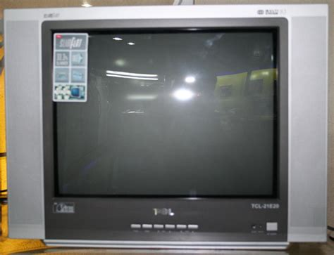 Tv Tcl 21 Inch Flat tcl 21 quot tru flat slim fit color tv with free stand fan cebu appliance center