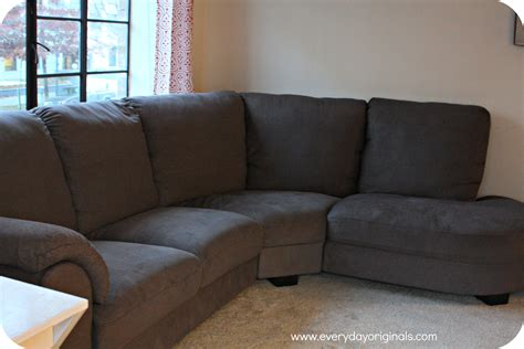couch to ikea tidafors sofa review and some new curtains too