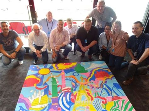painting for team building tui at wembley team building activities eml uk