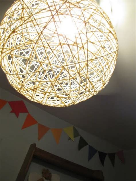 Diy Ceiling Lights Light Shade Diy It On The Ceiling Fan So Creative I D Like To Make Them And Hang Them