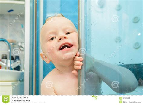 Boy Shower by Boy In The Shower Stock Photos Image 32069683
