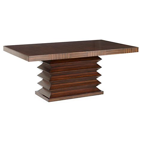 Single Leg Dining Table Dining Tables One