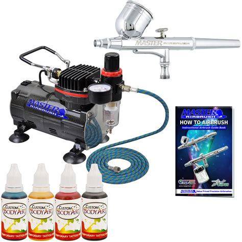 Global Paint Kit Kit airbrush paint kit 4 custom colors air