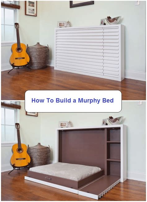 how to make a murphy bed how to build a murphy bed