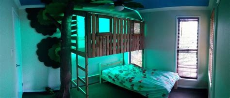 tree house bunk bed  steps  pictures