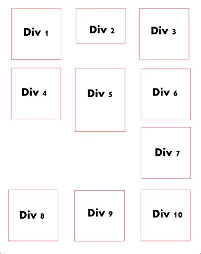 float div jquery scalable rows using left floated div