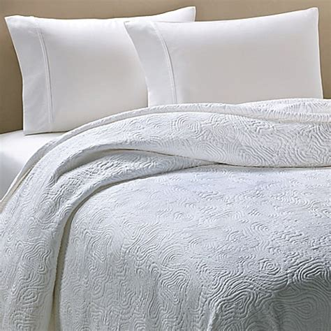 barbara barry coverlet buy barbara barry 174 arroyo king coverlet in white from bed