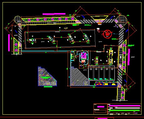 gas station dwg block for autocad • designs cad