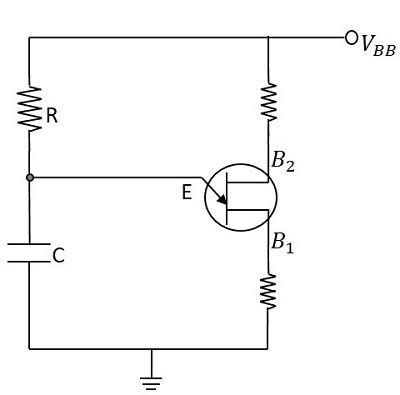pulse circuits ujt as relaxation oscillator