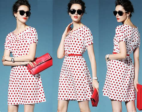 Preorder Dress Wanita Import Premium High Quality 39 tara dress in polka dot print obto 2 07 only s 20 9 instead of s 39 9