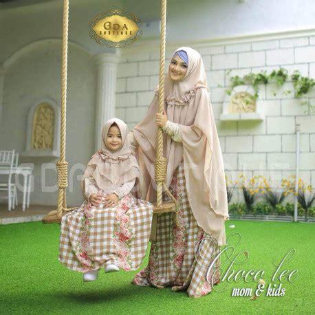 Gamis Muslimah 340 26 choco baju muslim gamis modern