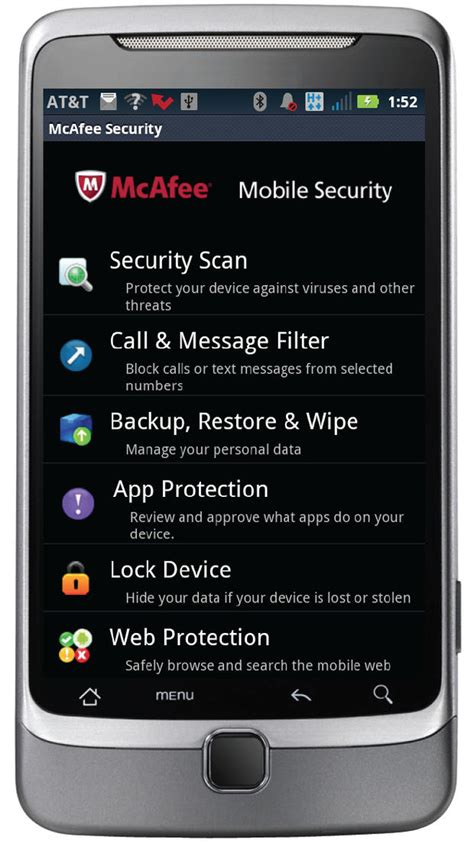 mcafee mobile mobile security app from mcafee hits 2 0 the