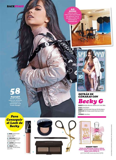 street style seventeen magazine becky g seventeen magazine mexico april 2017 issue