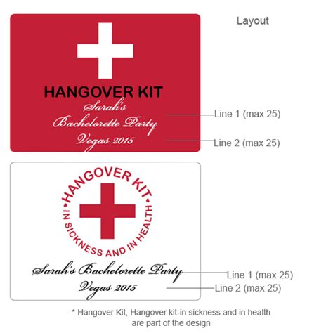 printable hangover kit tags hangover kit personalized mini gable favor boxes 12