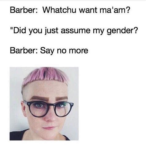 Did You Just Assume My Gender Meme