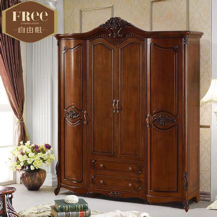 kleiderschrank helles holz solid wood wardrobe closet design decoration
