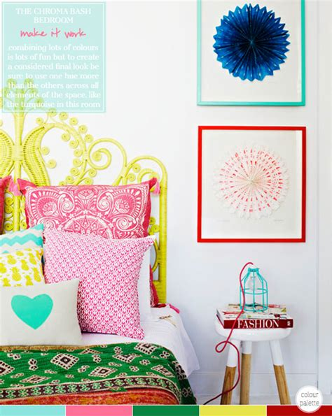bright coloured bedrooms colour palette multi coloured bedroom bright bazaar by will taylor