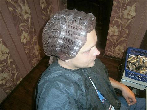 man getting a home perm 1000 ideas about hair roller on pinterest roller set