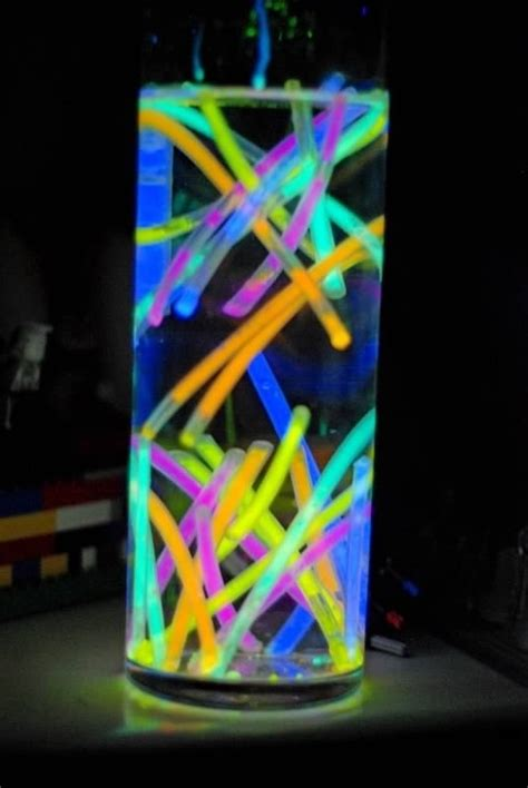 neon centerpiece ideas 9 glow sticks 46 eye catching decorations for