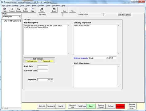 mechanical workshop software motor mechanic software
