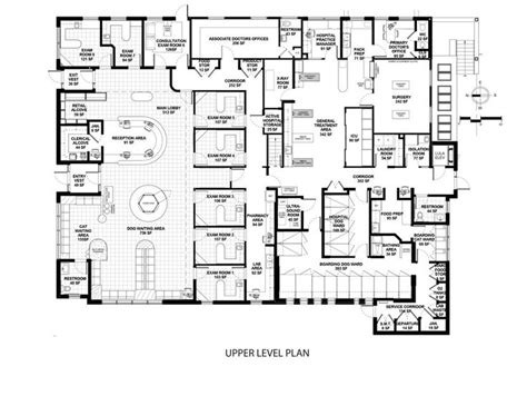 floor plan of a hospital 17 best images about building a vet practice floorplans on cat boarding