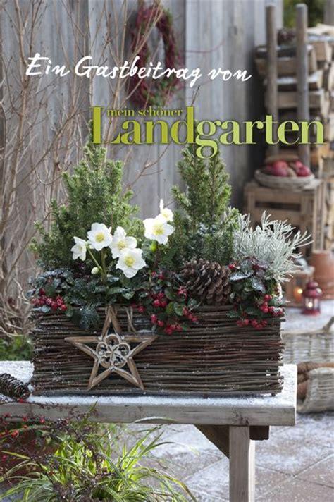 terrasse winterlich dekorieren 1000 ideas about outdoor blumenk 252 bel auf