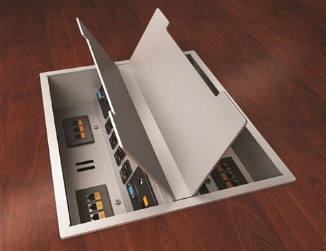 Boardroom Table Power And Data Modules Act Power Data Modules Bring Electric Outlets Audio Voice And Data To Your Conference