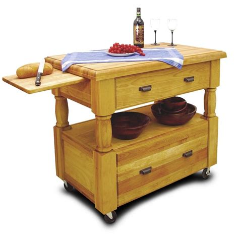 wheeled kitchen islands 53 images catskill craftsmen roll about 29 quot rolling kitchen catskill craftsmen europa kitchen cart in natural birch 1429