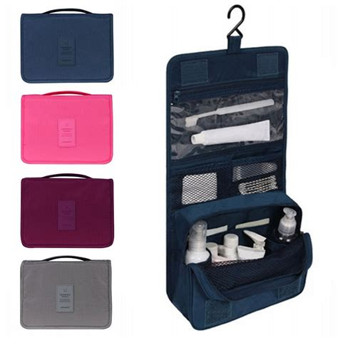 Bathroom Travel Kits Unisex Hanging Toiletry Bag Kit Cosmetic Carry Travel