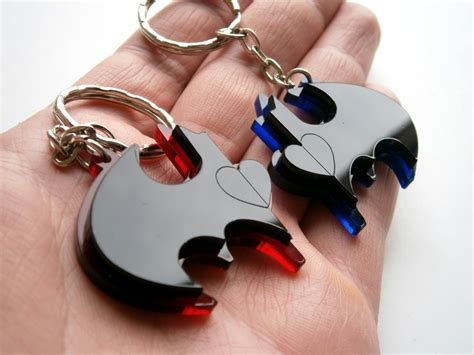 Gantungan Acrylic best friends batman keychains