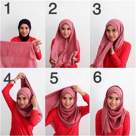 video tutorial hijab pashmina wisuda tutorial hijab pashmina hijabtuts
