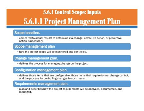 Mba In Service Management Scope by 05 Project Scope Management