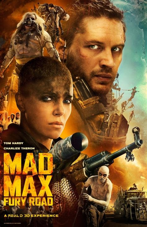 film mad max another awesome poster for mad max fury road we geek