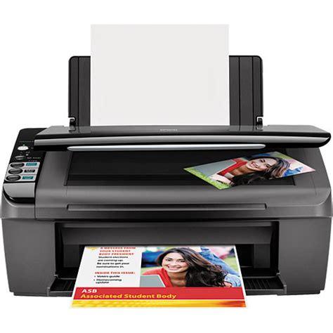 Printer Epson Stylus Nx130 All In One epson stylus cx4400 all in one c11c688201 b h photo