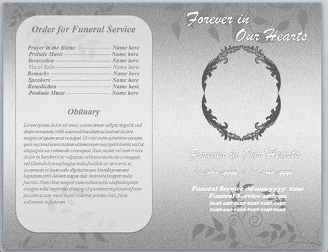 Pin Funeral Program Template Mac Free On Pinterest Funeral Program Template For Mac