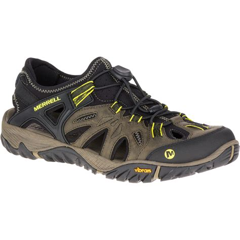 merrell hiking sandals merrell s all out blaze sieve hiking sandals olive