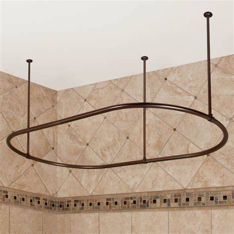 Oval Shower Rod by Oval Shower Curtain Rod Shower Curtain Rods
