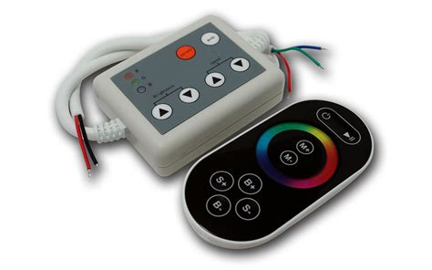 Remote Controller Wireless Led Colorful Rgb 12v dc 12v 24v rf wireless rgb led controller 8 touch remote led strips led controllers led
