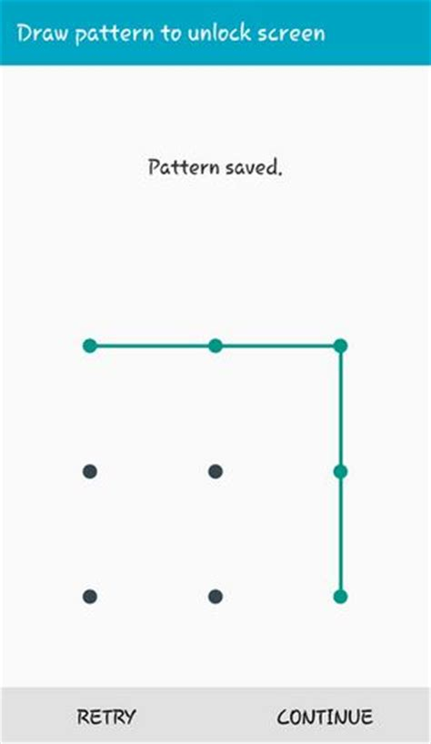 draw pattern to unlock android app how to set up pattern lock on android